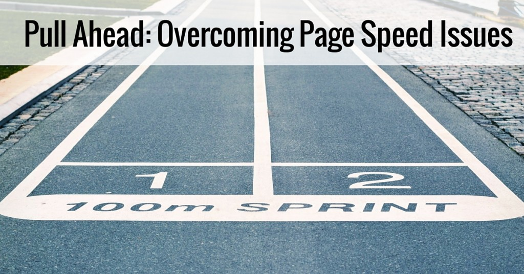 SEO Overcoming Page Speed Issues