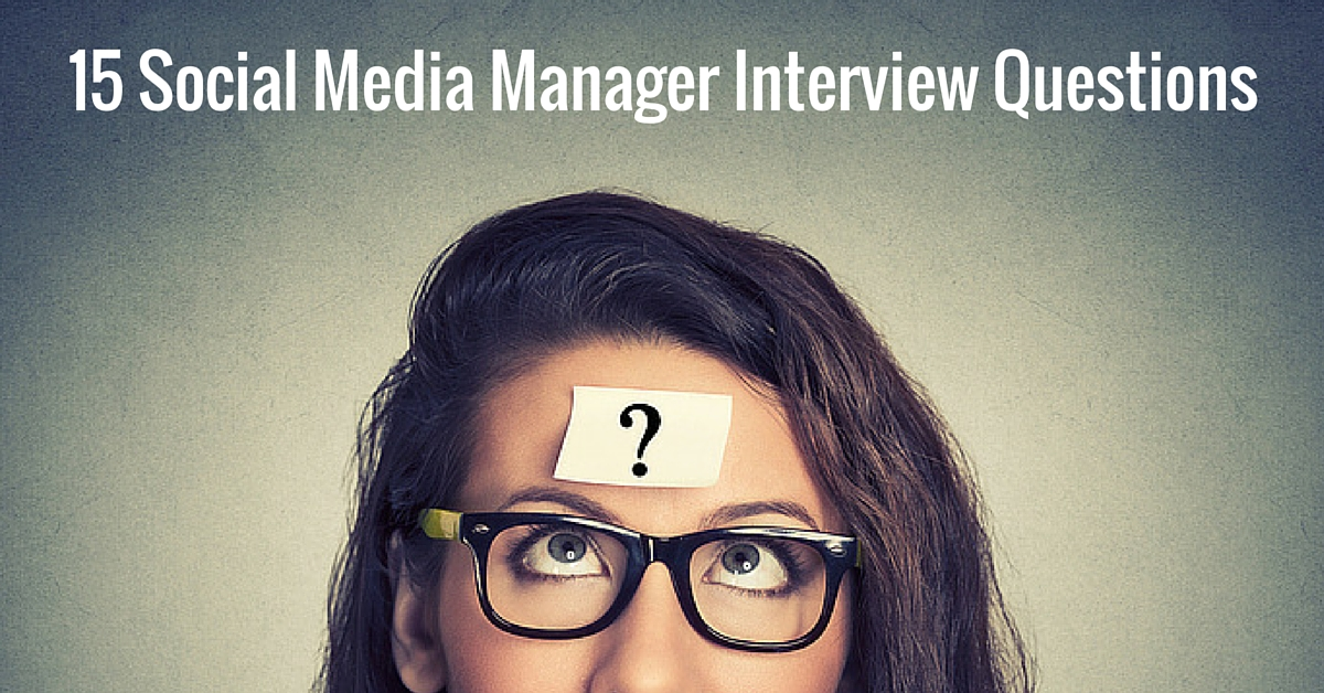 Social Media Manager Job Description  Interview Questions