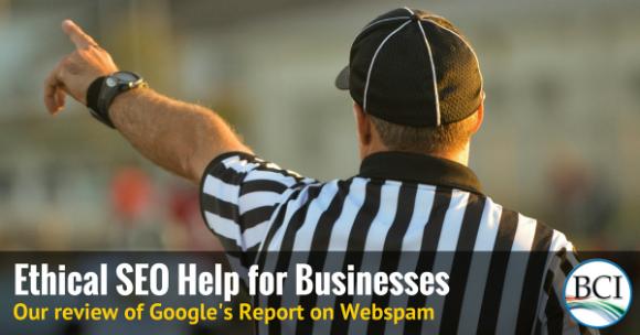 Google referees SEO conduct
