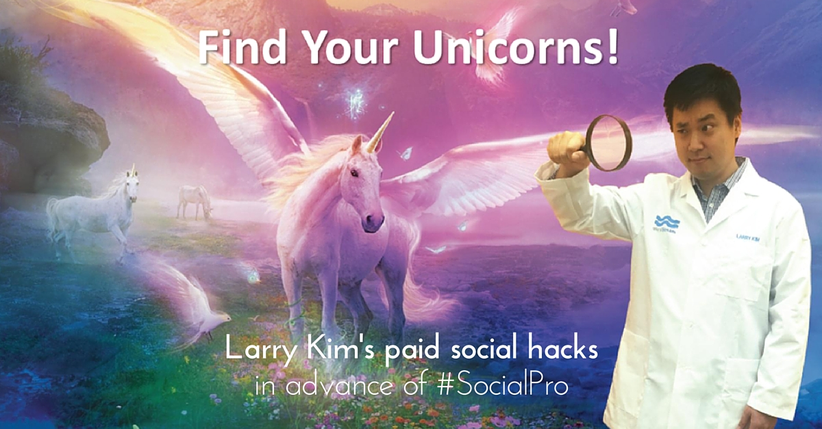 larry kim paid social unicorn hacks