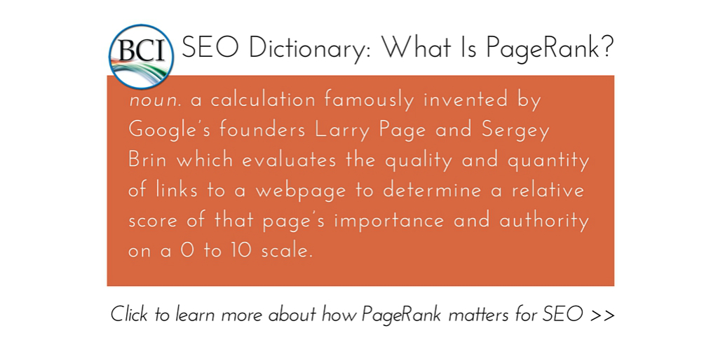 What Is Google PageRank, How Is It Earned & Does It Matter in 2016?