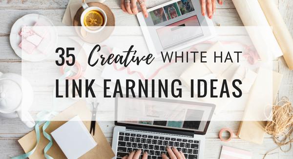 35 creative link earning ideas