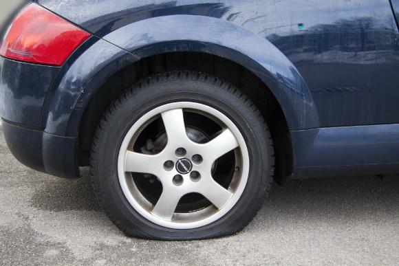 flat tire problem