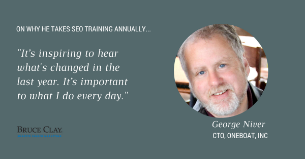 George Niver SEO Training