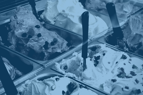 blue gelato