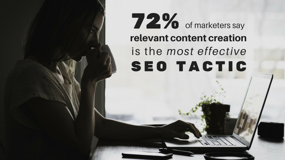 content is the best seo tactic