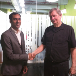 Bruce Clay with contest winner Dhananjay Kumar