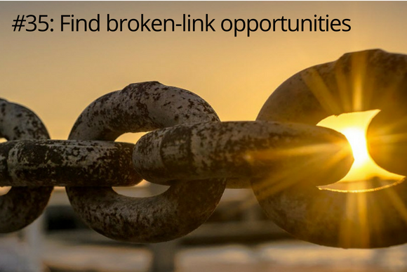 Find broken link opportunities