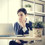 business woman making SEO mistakes