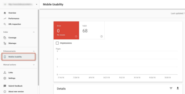 Google's Mobile Usability Report