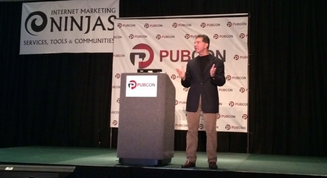 Robert Cialdini at Pubcon New Orleans