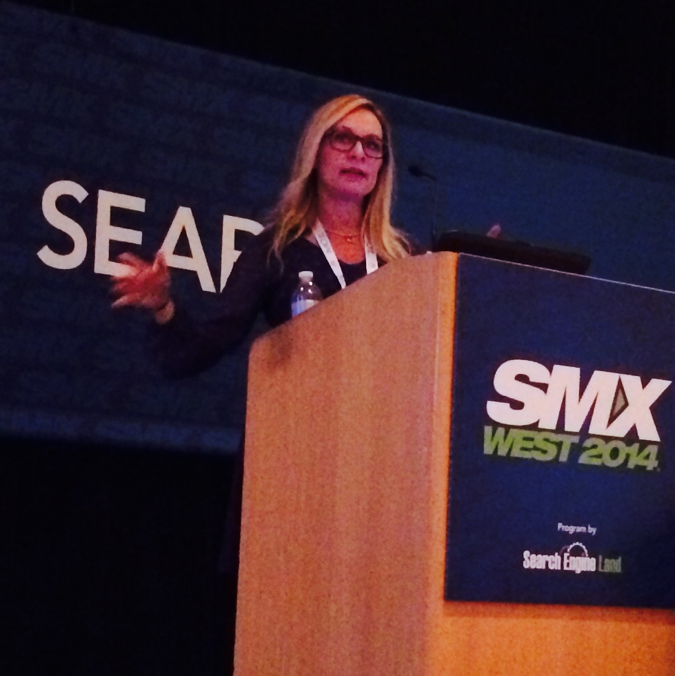 Lisa Buyer at SMX West 2014