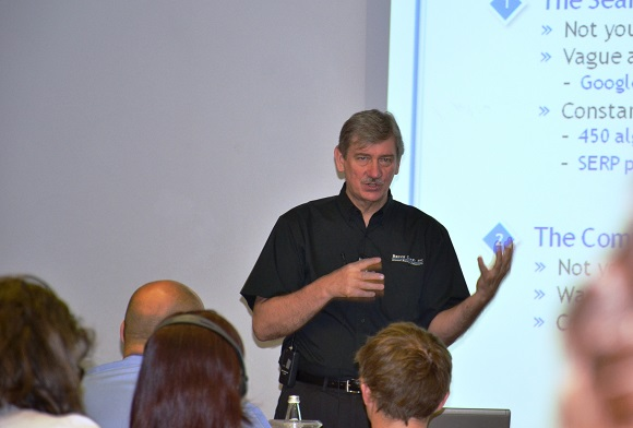Bruce Clay, SEO trainer.