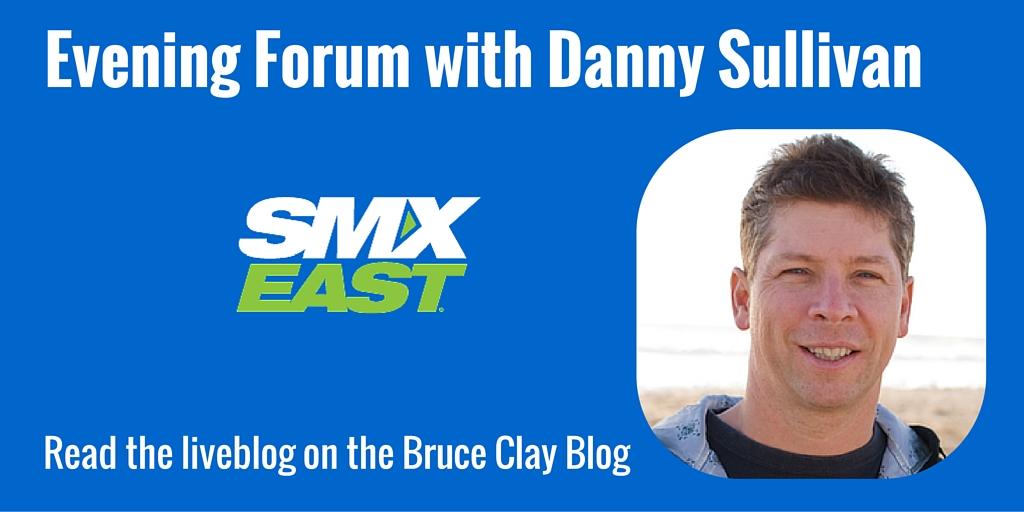 Danny Sullivan at SMX East 2015