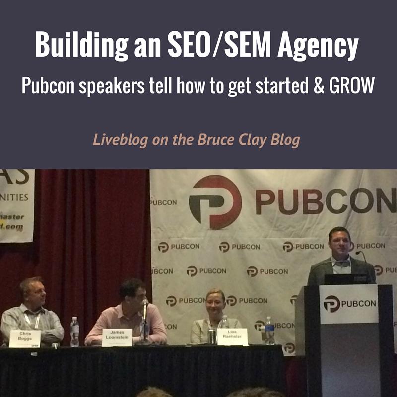 Building an Agency session liveblog
