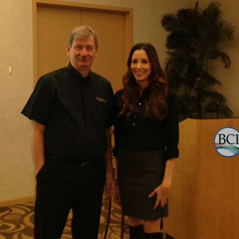 SEO trainers Bruce Clay and Mindy Weinstein