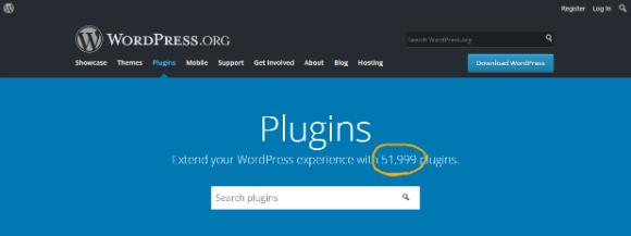 WordPress.org has 52000 plugins