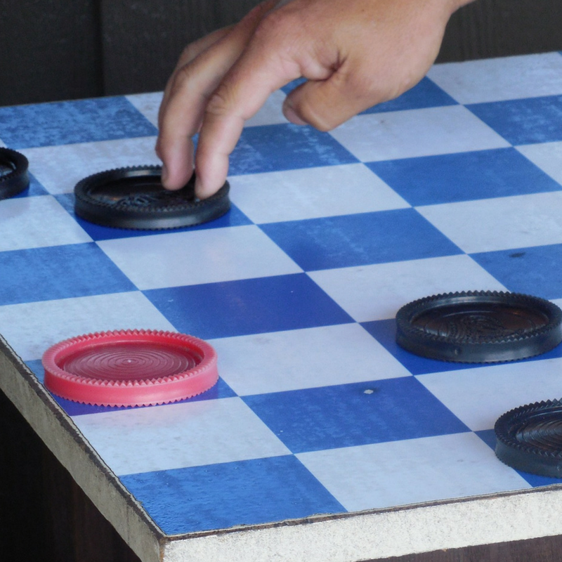 checkers move