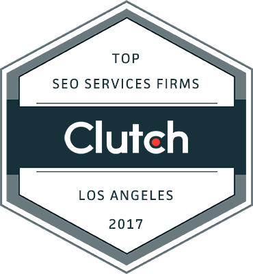 Clutch Top SEO Services Firms winner