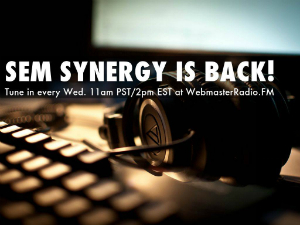 SEM Synergy is back