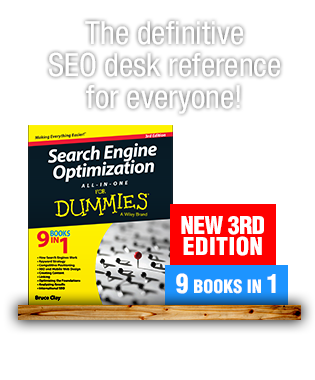 SEO For Dummies Book