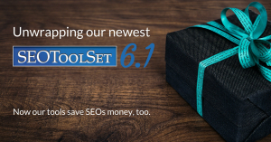 Unwrapping SEOToolSet 6.1