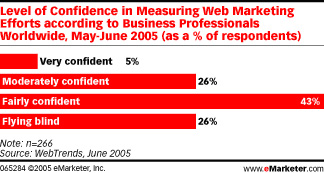 Web Marketing Efforts Confidence