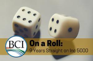 9 years on Inc 5000