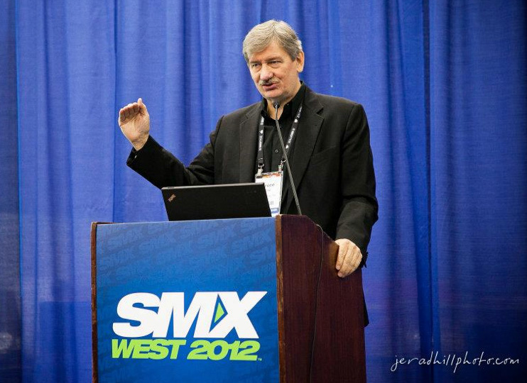 Bruce Clay speaking at SMX West conference