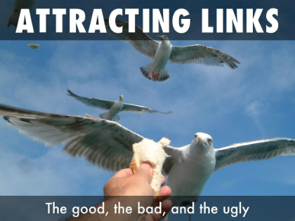 Attracting inbound links