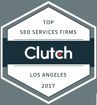 Clutch Top SEO Services Firms winner