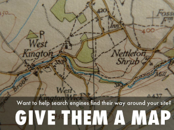 Give search engines a map