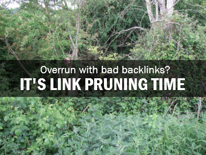Overgrown with bad links