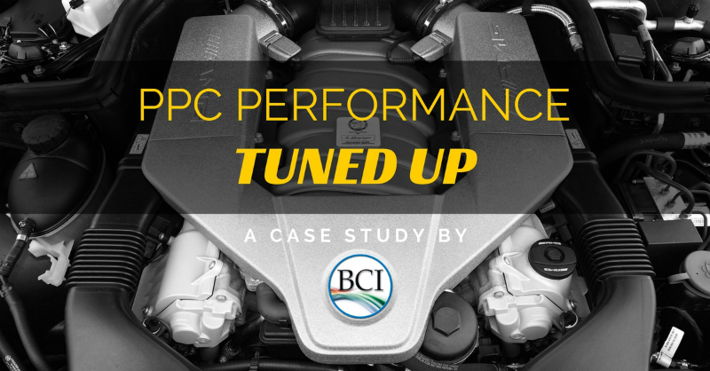 PPC performance tuned up - case study