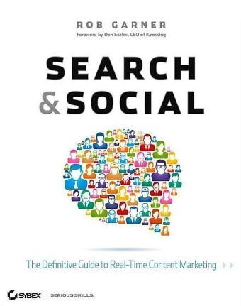 "Book cover ""Search & Social""."