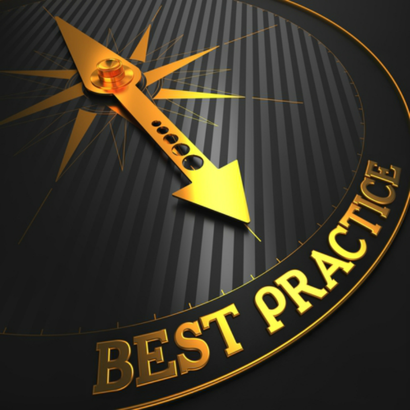 Best practices pointer.