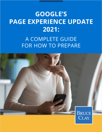 Ebook to download on Page Experience preparation.