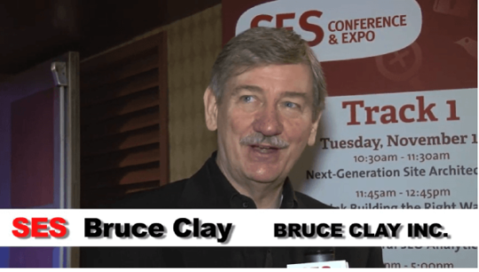 Bruce interviewed at SES in 2012.