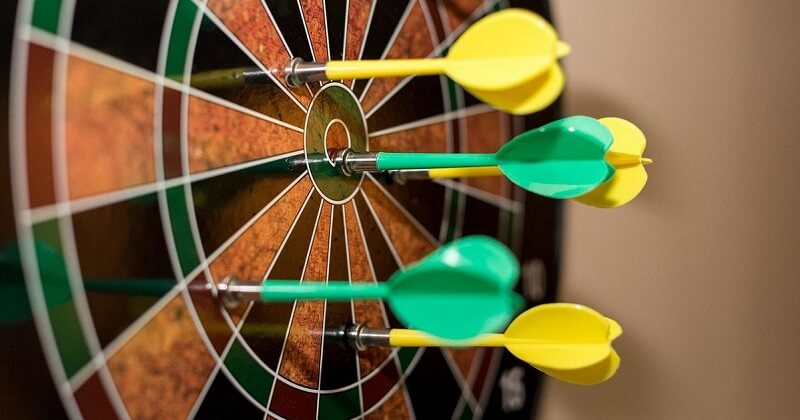 Dartboard to keep content marketing on target.