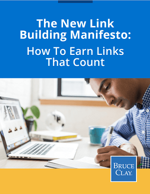 E-book on link building by Bruce Clay Inc.