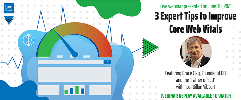 The 3 Expert Tips to Improve Core Web Vitals webinar replay is now available to watch.