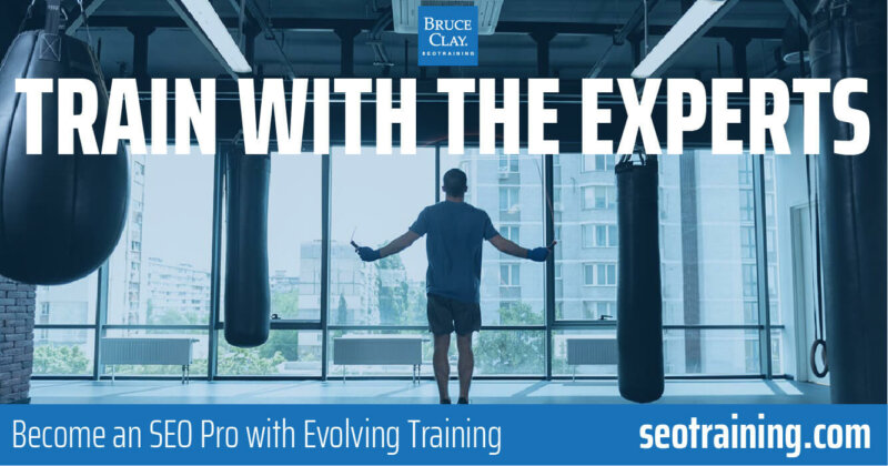 Train with the SEO experts.